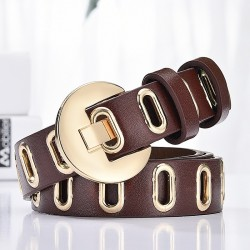 hollow fashion authentic belt - wild student jeans trend - personality ladies belt