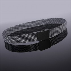 canvas luxury knitted nylon belt - automatic buckles belts - army tactical design for men casualstyle male strap