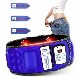electric infrared slimming belt - lose weight fitness massage - vibration abdominal belly