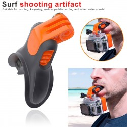 Mount bite camera mouth - for GoPro - Xiaomi 4K - SJCAM - surfing & diving accessories