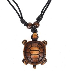Tribal Sea Turtle Necklace