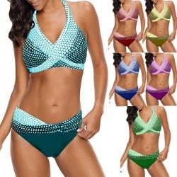 Polka dots swimsuit - bikini set