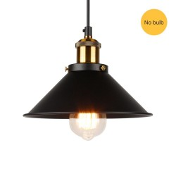Vintage wall light - long hanging lamp - gold - black