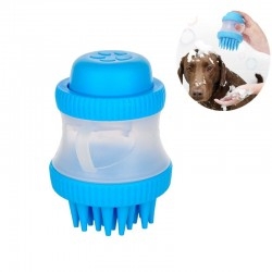 Pet cleaning brush - massage - silicone - bath- shower - accessories