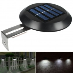 9 LED - solar powered lamp - outdoor - waterproof garden light