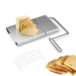 1Pc - Cheese Slicer - 5 Extra Wires