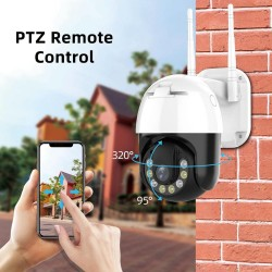3MP - WIFI - IP Camera - Outdoor - Wireless - H.265 - Security CCTV Camera