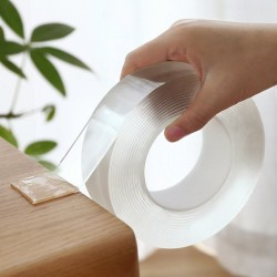 Double-Sided - Nano-Tape - Transparent - Reusable - Waterproof