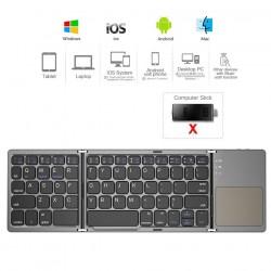 Mini - Folding - Keyboard - Bluetooth - Wireless Keypad