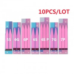 10pcs - Battery - Adhesive Sticker - iPhone