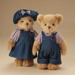 Dressed Up Couple - Teddy Bears