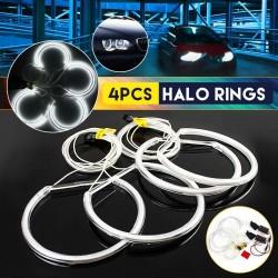 Angel eye light - halo ring - white LED - 131mm - for BMW E36 E38 E39 E46 - 4 pieces