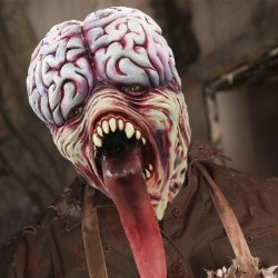 Biochemical zombie mask - latex