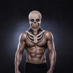 Skeleton mask for halloween