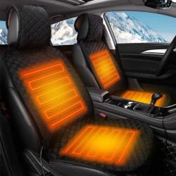 Electric car seat - heated cushion - 12V