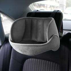 Kids adjustable headrest - neck support - car seat pillow