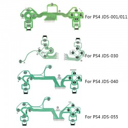 PS4 Dualshock 4 Pro Slim Controller - replacement buttons - ribbon circuit board - conductive film - flex cable