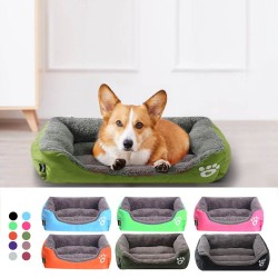 Sleeping pet bed - plush mat for dogs / cats - waterproof