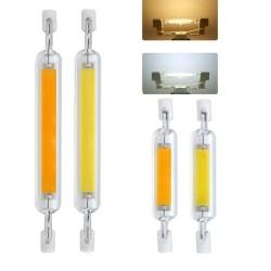 R7S - AC 110V - 220V - 230V - 6W - 12W - 20W - LED - COB halogen bulb - glass tube - 10 pieces