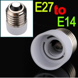 E27 to E14 Fitting Bulb Lamp Converter |