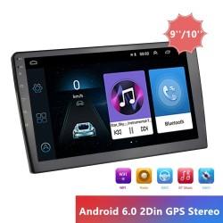"9/10"" car radio - Android / 2 Din - GPS - Bluetooth - WIFI - Mirrorlink - MP5"