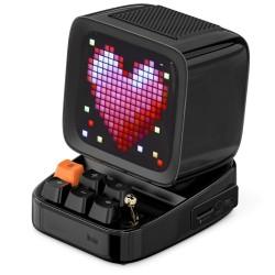 Retro Bluetooth speaker - pixel art - alarm clock - LED display - gaming board - DJ mixer