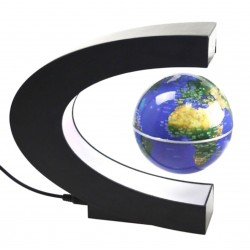 Floating Levitation Globe Magnetic Color & Gold*