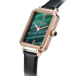 Luxurious quartz watch - stainless steel - mesh - waterproof