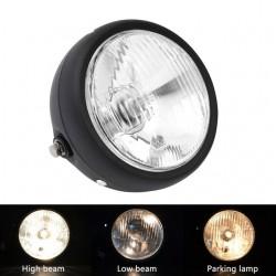 "6 1/2"" - retro motorcycle headlight lamp"