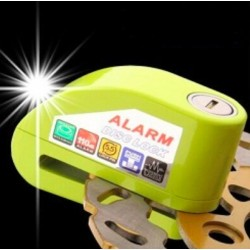 Motorcycle Bike Scooter Safety Anti Theft Disc Lock With Alarm