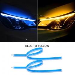 Car LED DRL strip - turn signal / fog lights - flexible - 12V