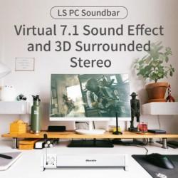 Bluedio LS - computer speaker - soundbar - USB wired - Bluetooth - with microphone