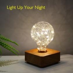 Modern LED night light - USB - copper wire string bulb