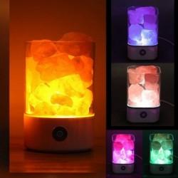 Crystal salt lamp - negative ion light - USB
