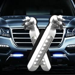 Car light - LED strip - DRL - RGB - wind energy - 2 pieces