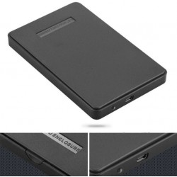 "External Hard Drive Disk Enclosure Usb 2.0 Sata 2.5"" Inch