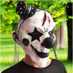Silicone Halloween Clown Mask