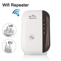Wireless-N Wifi Repeater Signal Booster 300Mbps