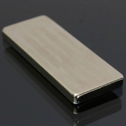 N50 Neodymium Magnet Strong Cuboid Block 50 * 20 * 4mm