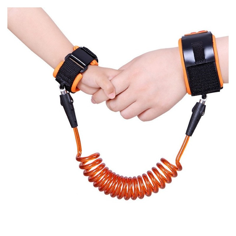 Toddler kids safety anti-lost wrist link cable bracelet