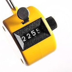 Tally number counter clicker 4 digits