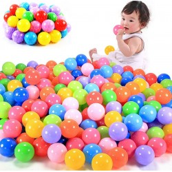 Baby Child Friendly Plastic Pool Balls 100pcs
