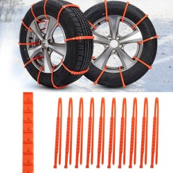 Car Winter Tire Anti-Skid Chains Set 10 pcs|