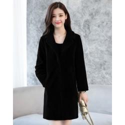 Long Wool Winter Coat Jacket