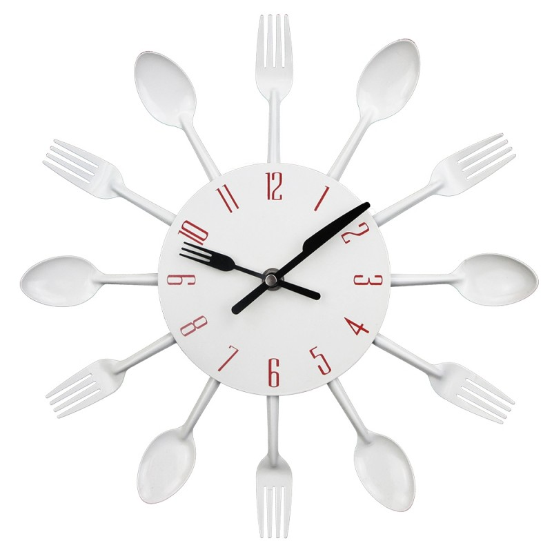horloge murale moderne pour cuisine. Black Bedroom Furniture Sets. Home Design Ideas