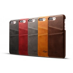 iPhone 6 - 6s - 7 - Plus Leather Wallet Card Holder Back Cover Case