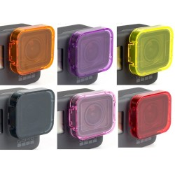 GoPro Hero 5 Underwater Diving Lens Cap Filter Cover Case 6pcs