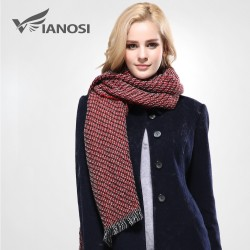 VIANOSI Tassels Shawl Winter Warm Scarf