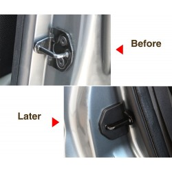 Car door lock protective cover anti-corrosive for Ford Focus 2 2005-2013 4 pcs