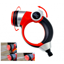 Garden sprinkler spray with adjustable nozzle 7 functions